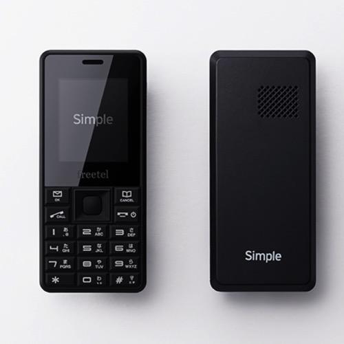 SIMフリーガラケー「Simple」