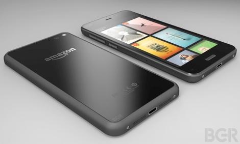 Amazonのスマートフォンデザイン