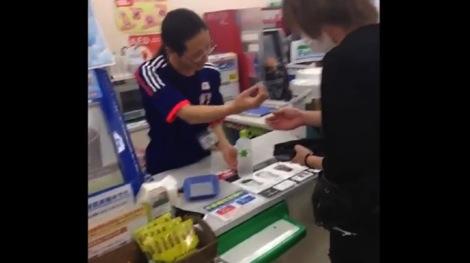 ファミリーマート大須本通店の店員、加藤さん
