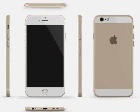 iPhone 6のコンセプト画像