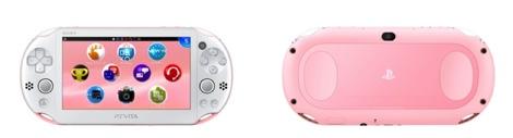 PS Vita ライトピンク/ホワイト