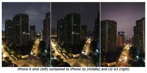 iPhone 6カメラ性能比較写真