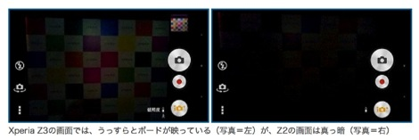 Xperia Z3 撮影比較