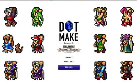 DOT MAKE