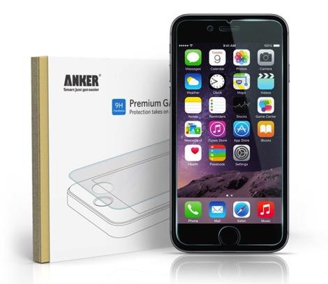 iPhone 6 4.7インチ用 強化ガラス液晶保護フィルム